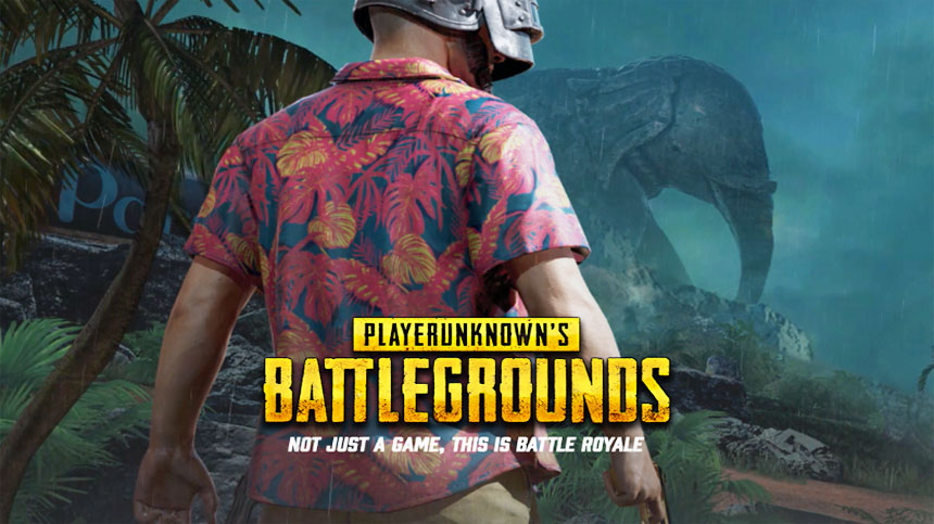 タイトル画像『Player Unknown's Battle Grounds (PUBG)』