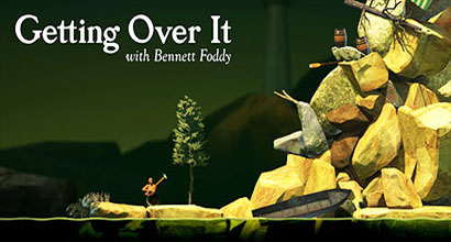 タイトル画像『Getting Over It with Bennett Foddy』